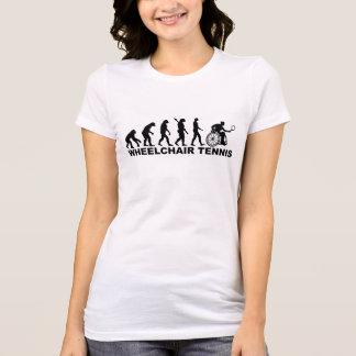 Tennis de fauteuil roulant d'évolution t-shirt