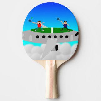 Tennis sur des battes d'un ping-pong d'avion raquette de ping pong