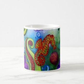 tentacule d'hippocampe et de poulpe mug