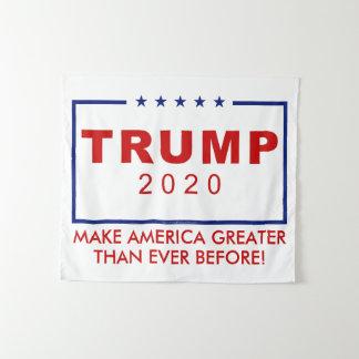 Tenture Murale Donald Trump 2020 rendent l'Amérique plus grande
