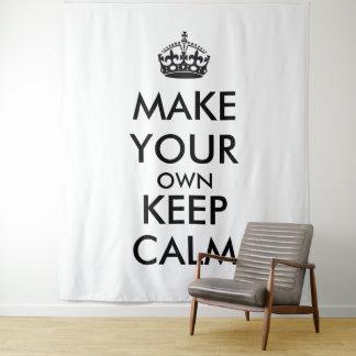 Tenture Murale Faites vos propres garder le calme