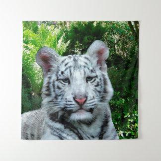 Tenture Tigre blanc