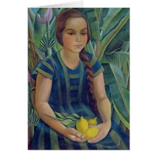 Teresina, 1925 carte de vœux