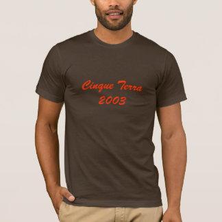 Terra 2003 de Cinque T-shirt