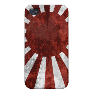 Terre japonaise du Japon de cas de Soleil Levant Coques iPhone 4/4S