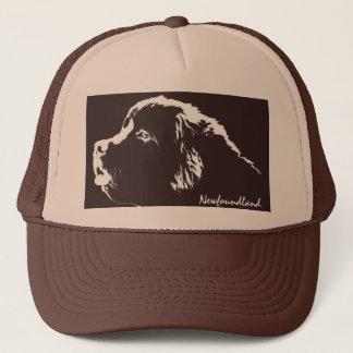 Terre-Neuve couvre les casquettes de chien