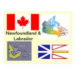 Terre-Neuve et Labrador Canada Cartes Postales