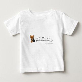 terrier de Yorkshire T-shirt Pour Bébé