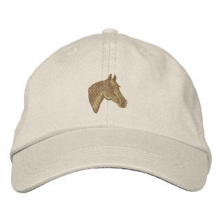 Tête de cheval quarte casquette de baseball