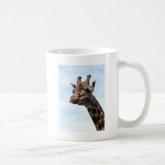 Tête et cou hauts étroits de girafe mug