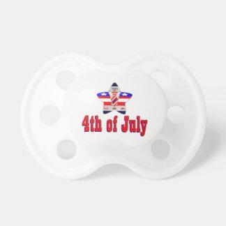 Tétine 4 juillet les Etats-Unis