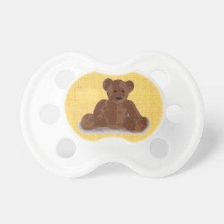 Tétine Arrière - plan texturisé de jaune d'ours de