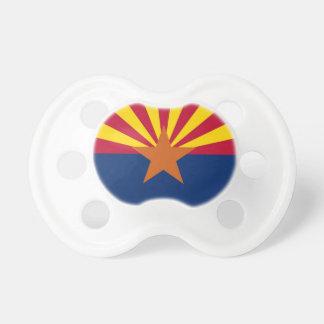 Tétine avec le drapeau de l'Arizona, Etats-Unis
