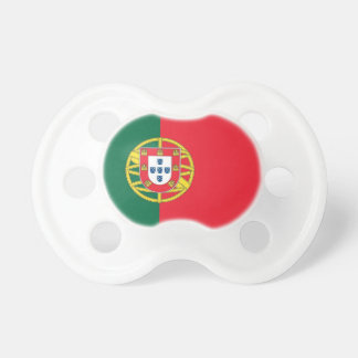 Tétine avec le drapeau du Portugal