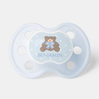 Tétine Bébé doux en pastel mignon d'ours de nounours de