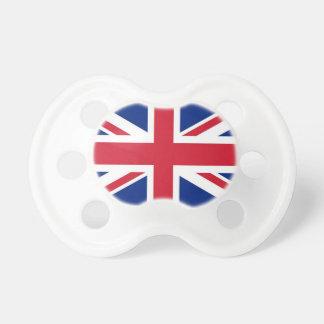 Tétine britannique de bébé de drapeau