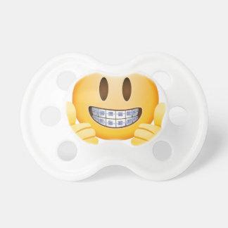 Tétine Croisillons Geeky Emoji