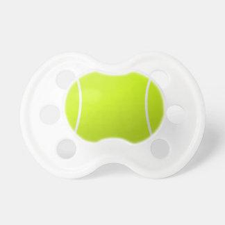 Tétine de bébé de balle de tennis pour de jeunes