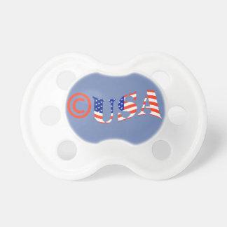 Tétine de bébé de Copyright Etats-Unis POUR le
