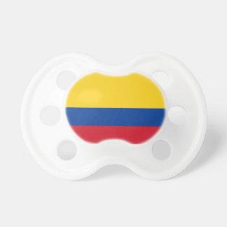 Tétine de Booginhead de drapeau de la Colombie