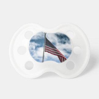 Tétine de drapeau américain