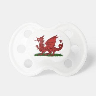 Tétine Dragon rouge du Pays de Galles