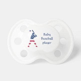 Tétine Drapeau d'Américain de base-ball de l'Amérique