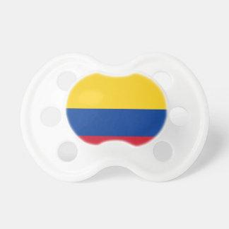Tétine Drapeau de la Colombie - le Bandera De Colombie