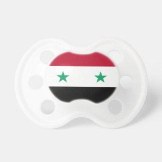 Tétine Drapeau de la Syrie