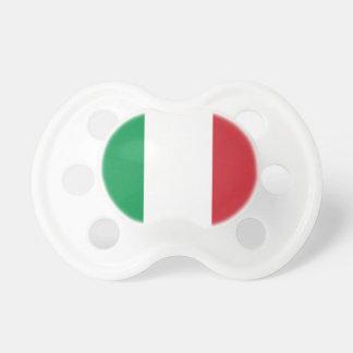 Tétine Drapeau national du monde de l'Italie