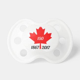 Tétine Feuille d'érable du Canada 150 en 2017