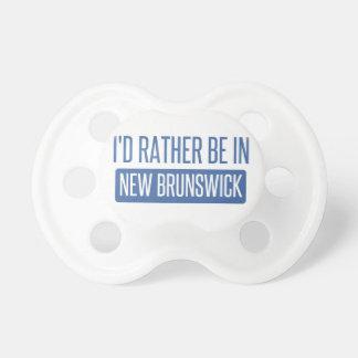 Tétine Je serais plutôt au Nouveau Brunswick