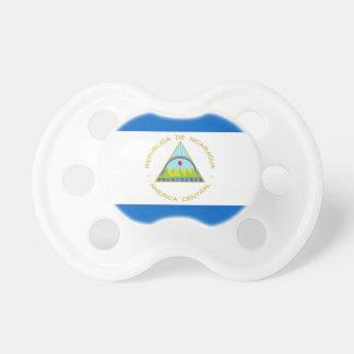 Tétine Le drapeau du Nicaragua - Amérique latine