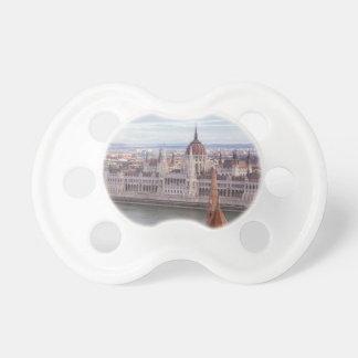 Tétine Le Parlement hongrois Budapest par jour
