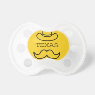 Tétine Le Texas en jaune 2