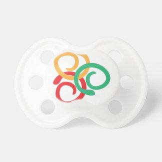 Tétine Logo de couleur