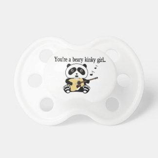 Tétine L'ours panda bascule