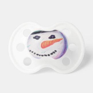 Tétine Neige de nez de carotte de bonhomme de neige de