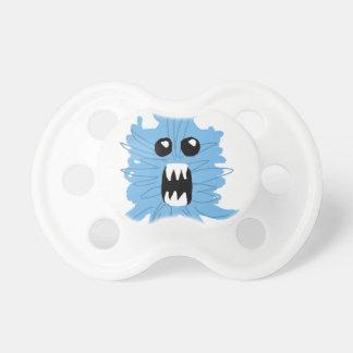 Tétine Papier d'emballage de monstre bleu