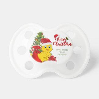 Tétine Petit Noël de poulet de bébé