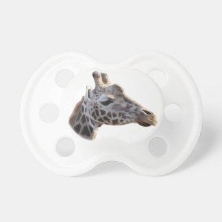 Tétine Photo mignonne de girafe