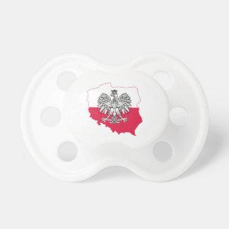 Tétine polonaise de drapeau
