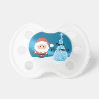 Tétine Premier simulacre de Noël