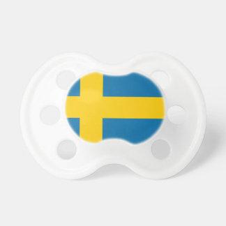 Tétine Sveriges Flagga - drapeau de la Suède - drapeau