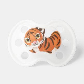 Tétine Tigres sauvages de chats d'animaux mignons de