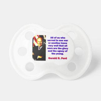 Tétine Tous les nous qui ont servi - Gerald Ford