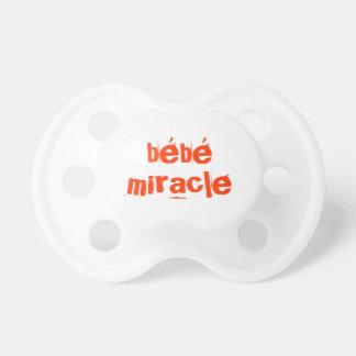 Tétines « Bébé miracle»