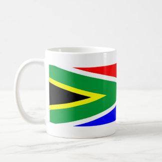 texte de nom de symbole de nation de drapeau de mug