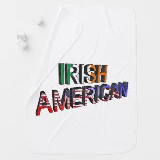Texte Irlandais-Américain pour la Bébé-Couverture Couverture Pour Bébé