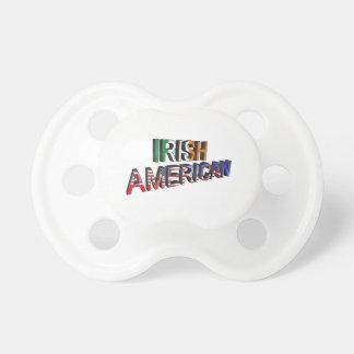 Texte Irlandais-Américain pour la Tétine